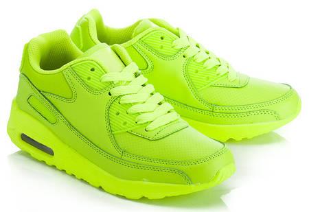 Женские кроссовки Селена Зеленый