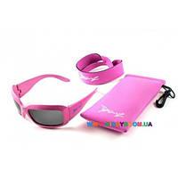 Очки Baby Banz детские солнцезащитные розовый JB009