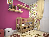 Колыбельная кроватка детская Каприз (ТИС)