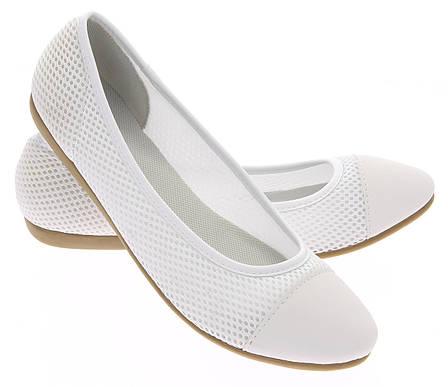Женские балетки Palmdale white
