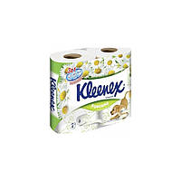 Бумага туалетная Kleenex Ромашки 4 шт