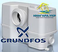Насос Grundfos SOLOLIFT 2 WC3 ( для забора сточных вод из душевой кабины, биде, раковины и туалета )