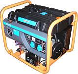 Бензогенератор Q-POWER QPG7000Е 5,8 (6,3) кВт