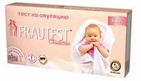 Тест-полоска на определение беременности Frautest №5/0/40