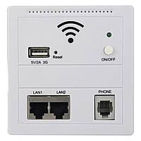 Многофункциональный встроенный Wi fi репитер wall AP LV-AP, беспроводной сетевой маршрутизатор