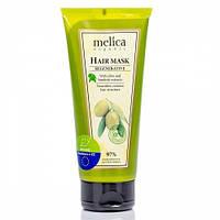 Регенерирующая маска Melica Organic с экстрактами лопуха и оливы 200 мл