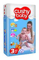 Подгузники детские Cushy Baby Midi 3 Standart 4-9 кг 11 шт