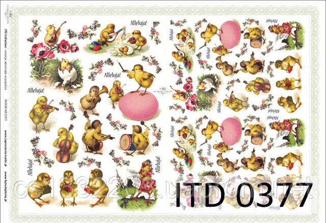 Декупажная карта ITD 0377