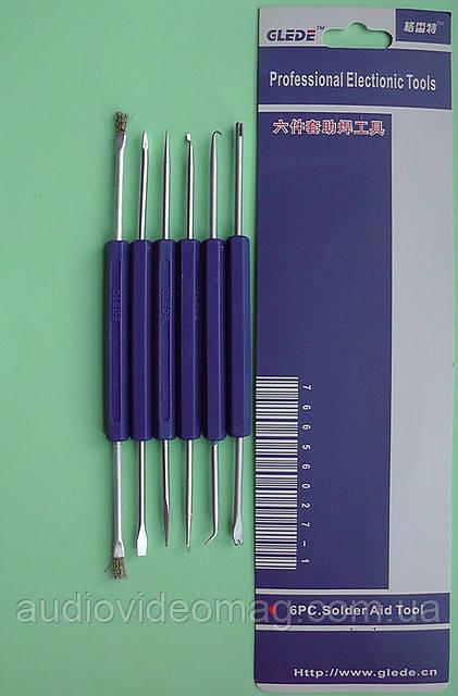 Набор инструментов для демонтажа при пайке