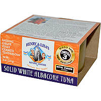 Henry & Lisa's, Solid White Albacore Tuna, 5 oz (141 g)
