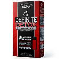 Herbal Clean, Total Eclipse, Definite Detox Guaranteed, 1 oz Concentrate, 4 Cleansing Capsules