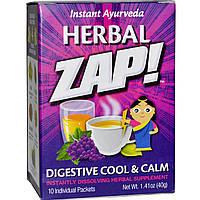 Herbal Zap, Digestive Cool & Calm, 10 Packets, 1.41 oz (40 g)
