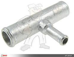 Тройник тосольный ГБО T 16mm / 8mm / 16mm металл