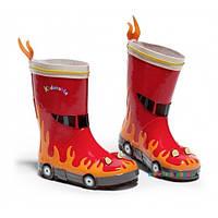 Резиновые сапоги Пожарный р-р 24-32 Kidorable 31083