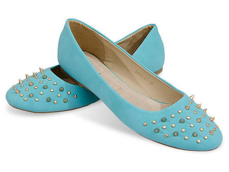 Женские балетки KALLIE BLUE!