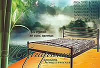 Кровать односпальная металлическая Маргарита Металлик, бордо, черная медь, черное золото, белый бархат