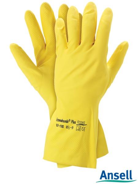 Перчатки защитные латексные RAECONOH87-190 Y