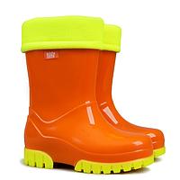 Сапоги резиновые детские Demar Twister Fluo Оранжевые