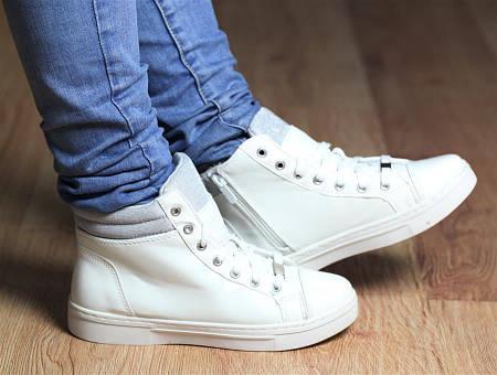 Женские кеды COLIN white