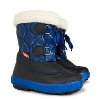 Сапоги зимние детские Demar FURRY синие