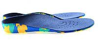Ортопедические детские стельки, размер 36-38, длина 24,1 см, ширина 8,5 см