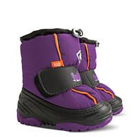 Сапоги зимние Demar ICE SNOW фиолетовые