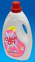 Гель для стирки Clean city - Чисте місто 4000 мл.