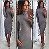 Стильное теплое платье, фото 3