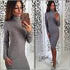 Стильное теплое платье, фото 4