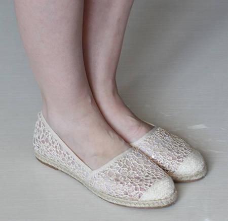 Женские балетки Лотос Беж