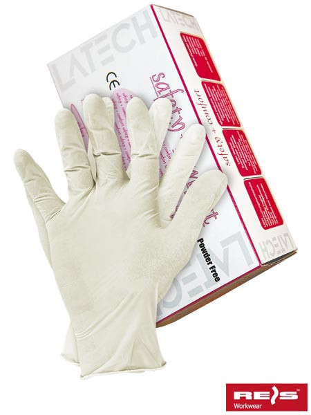 Перчатки латексные RALATEX-BEZP W