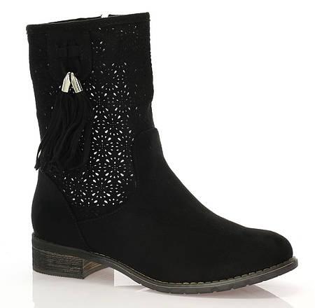 Женские ботинки Yuba black