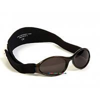 Очки Kidz Banz детские солнцезащитные черные KBN007
