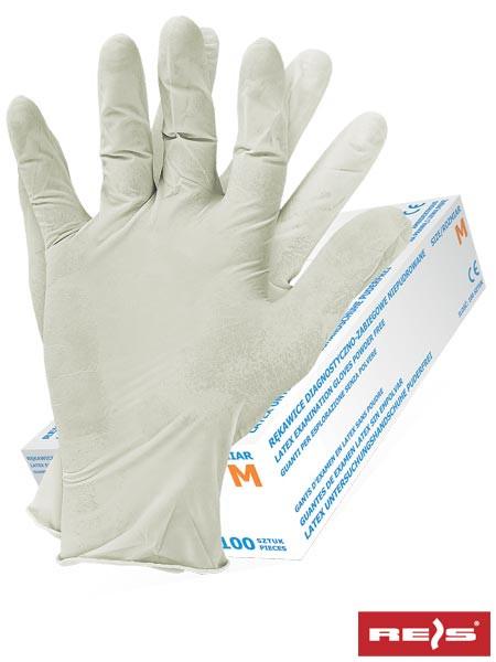 Перчатки латексные RALATEX-PF W