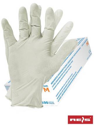 Перчатки латексные RALATEX-PF W, фото 2