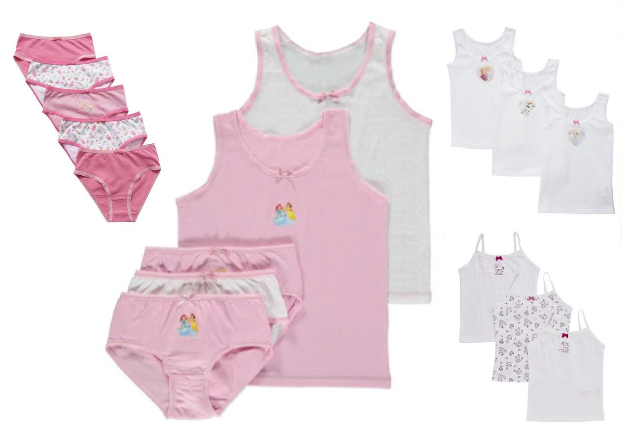 Трусики и майки для девочек Разные модели и цвета