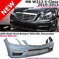 Передний бампер тюнинг обвес E63 AMG для Mercedes W212