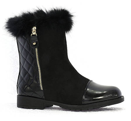 Женские ботинки Hermione black