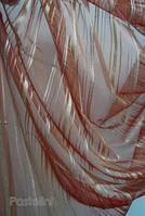 Ткань  для окон органза  Полоска
