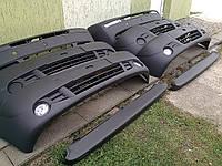 Бампер передний на Opel Vivaro Renault Trafic Nissan Primastar, Опель Виваро, Рено Трафик 01-14