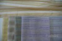 Ткань органза  SPARK крем.,серый,роз.,сирень,голубой