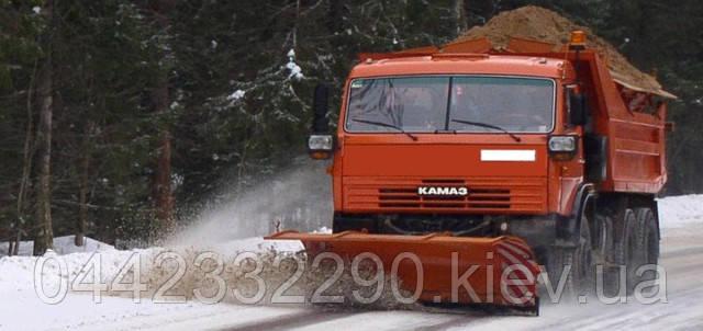 Аренда машин для уборки снега в Киеве