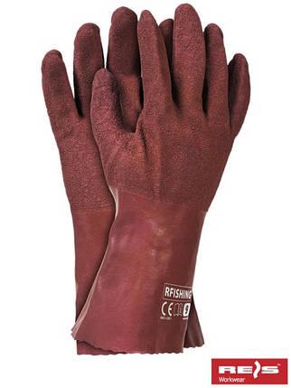 Перчатки латексные защитные RFISHING R, фото 2