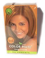 Натуральная индийская травяная краска (закрашивает седину) Golden Brown, фото 1