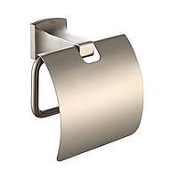 Держатель туалетной бумаги с крышкой Kraus Fortis KEA-13326BN