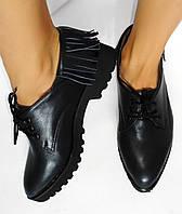 Стильные женские туфли для активной ходьбы от TroisRois из натурального замша. 2.0, Натуральная кожа, TroisRois, Синий
