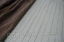 Ткань для штор ELVIRA крем,бежевый (V-1 V-3)