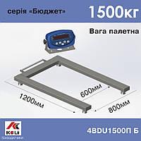 Весы паллетные Axis 4BDU1500П-Б