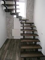 Дерев'яні сходи на замовлення в Києві, фото 1