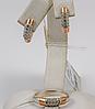 Нежный серебряный набор Лорен 16,5р 17р 17,5р